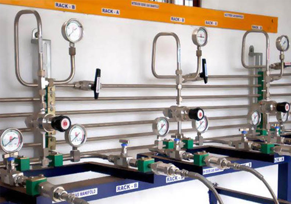 SVE offers a wide range of Gas Cylinder Filling Station Equipment including Filling Manifolds, Control Panels, Mixer Panels, Hoses, etc.