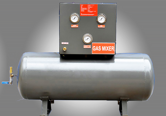 Gas blender/gas mixers allows its users to generate a controlled and uniform mixture of gases coming from separate pure gas sources, creating blends in a variety of accuracies and capacities.